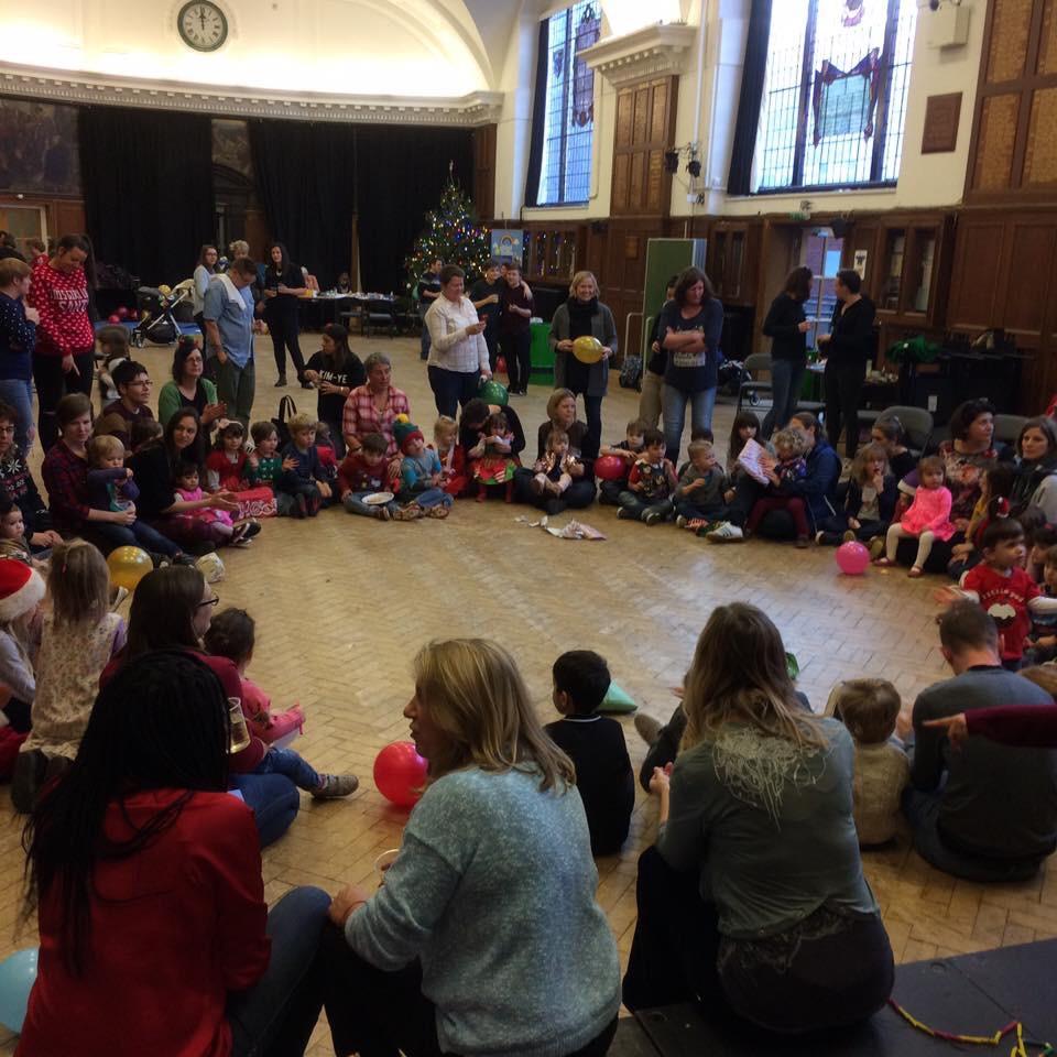 Christmas Party Brighton: Rainbow Families Christmas Party 2016
